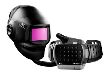 3M Speedglas Heavy-Duty Welding Helmet G5-01 w/ADF G5-01 and 3M Adflo High-Altitude PAPR Assembly 46-1101-30i