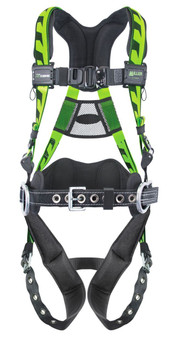 Large//X-Large Green Miller Titan by Honeywell AC-TB-BDP//UGN AirCore Full Body Harness