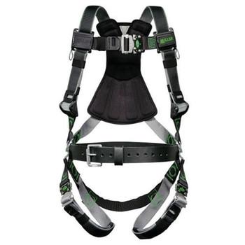 Miller Revolution Tower Climbing DualTech Harness with Quick-Connect Leg Strap - Small/Medium - RDTSL-QC/S/MBK