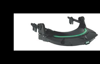 MSA V-Gard HDPE Frame For MSA Slotted Caps -  Black - 10115730