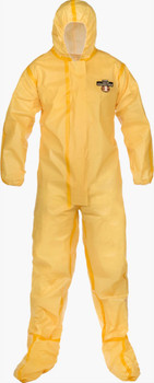 Lakeland ChemMax 1 Sealed Seam Coverall - Hood/Boots - C1T150