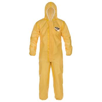 Lakeland ChemMax 1 Sealed Seam Coverall - Hood, Elastic Wrist/Ankle - C1T130