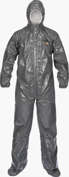 Lakeland ChemMax 3 Coverall - Respirator Fit Hood, Elastic Wrist/Ankle - C3T132