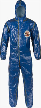 Lakeland Pyrolon CBFR Coverall - Respirator Fit Hood, Elastic Wrist/Ankle - 52132