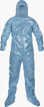 Lakeland Pyrolon .5 mil CRFR Coverall - Hood/Boots - 37414
