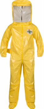 Lakeland ChemMax 4 Plus Encapsulated Suit - Flat Back/Rear Entry - C4T400Y
