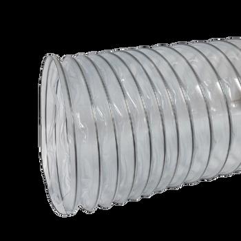 """Nikro 10"""" x 25' Heavy Duty PVC Flex Duct - 860781"""