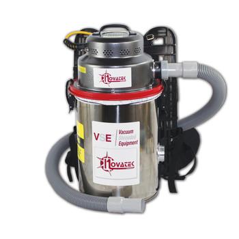 Novatek 3.3 Gallon Dry Backpack HEPA Vacuum - VA03EBK
