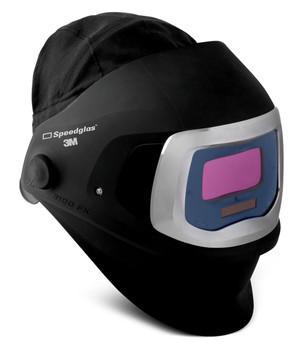 3M Speedglas 9100 FX Welding Helmet 06-0600-10SW - with SideWindows and ADF 9100V