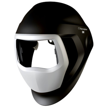 3M Speedglas 9100 Welding Helmet 06-0300-51SW - with SideWindows, Headband and Silver Front Panel