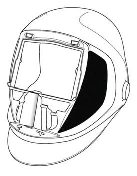 3M Speedglas 9100 Welding Helmet 06-0300-52SW - with SideWindows