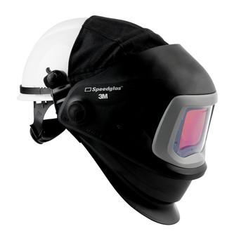 3M Speedglas 9100 FX Welding Helmet FX 06-0600-30HHSW - with Hard Hat, SideWindows and ADF 9100XX