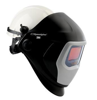 3M Speedglas Welding Helmet 9100 06-0100-10HHSW - with Hard Hat, SideWindows and ADF 9100V