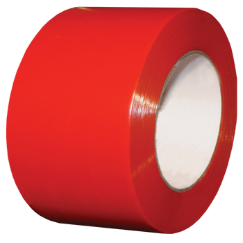 """SCAPA Polyflex 133 - 4"""" Red Poly Tape - 12/Case"""