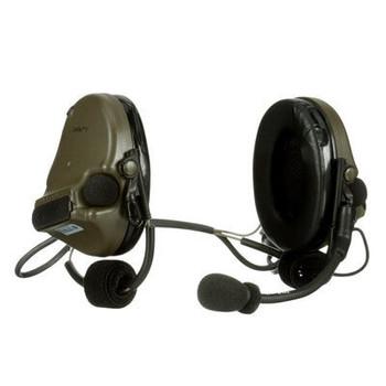 3M PELTOR ComTac V Headset MT20H682BB-47 GN - Neckband - Single Lead - Standard Dynamic Mic - NATO Wiring - Green