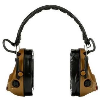 3M PELTOR ComTac V Hearing Defender Headset MT20H682FB-09 CY - Foldable - Coyote Brown