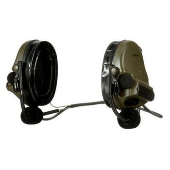 3M PELTOR ComTac V Hearing Defender Headset MT20H682BB-09 GN - Neckband Green