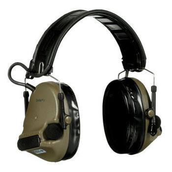 3M PELTOR ComTac V Hearing Defender Headset MT20H682FB-09 GN - Foldable - Green