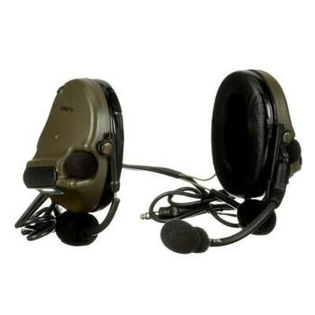 3M PELTOR ComTac V Headset MT20H682BB-19 GN - Neckband - DL - Standard Dynamic Mic - NATO Wiring - Green