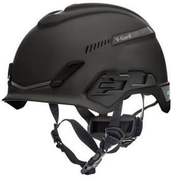 MSA V-Gard H1 Safety Helmet - Tri-Vent - Black - Fas-Trac III Suspension