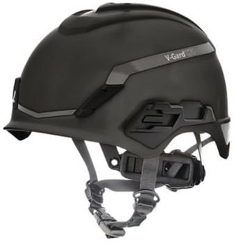 MSA V-Gard H1 Safety Helmet - No Vent - Black - Fas-Trac III Suspension