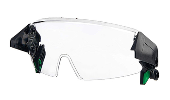 MSA Clear Half-Face Goggle for MSA V-Gard H1 Helmets - 10194820
