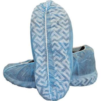 Disposable Polypropylene Shoe Covers w/ Skid Resistant Bottom - 150pr/Case