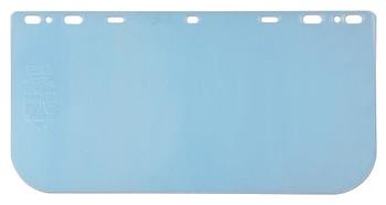 """MCR Head Gear/Face Shields - 8"""" x 16"""" .040 - Clear PETG Faceshield - 181640"""