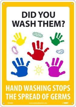 Did You Wash Them? 14X10 - .050 Rigid Plastic - WH4RB