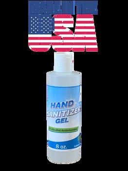 SunBeam Hand Sanitizer 70% Ethyl Alcohol Lemongrass Scent - 8 oz. Bottle 1/EA