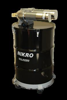 Nikro 55 Gallon  Pneumatic HEPA Vacuum (Dry) AHD55TWN