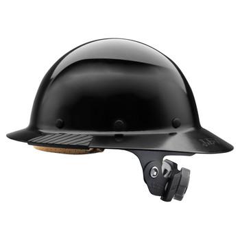 Lift Safety DAX Fiber Resin Full Brim Hard Hat - Black - HDF-15KG