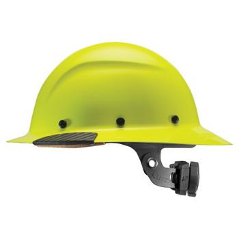 Lift Safety DAX Fiber Resin Full Brim Hard Hat - Yellow - HDF-18HV