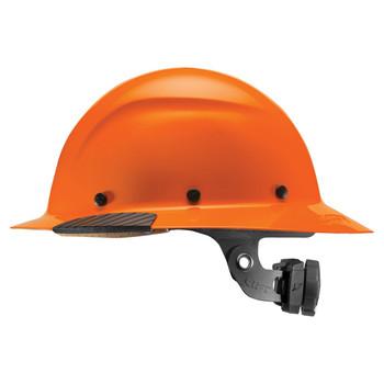 Lift Safety DAX Fiber Resin Full Brim Hard Hat - Orange - HDF-18OG