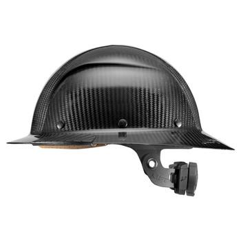 Lift Safety DAX Carbon Fiber Full Brim Hard Hat - Black - HDC-15KG