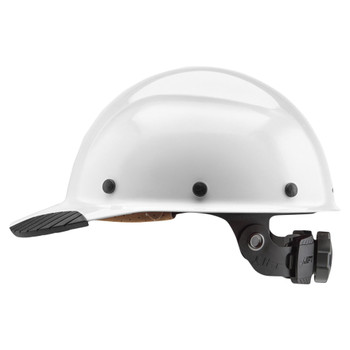 Lift Safety DAX Fiber Resin Cap Style - White - HDFC-17WG