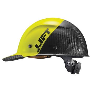 Lift Safety DAX Carbon Fiber Cap Style FIFTY50 - Yellow/Black - HDC50C-19HC