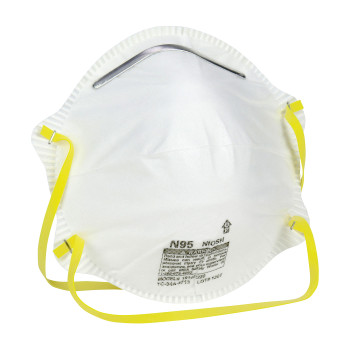 Safety Works® N95 Particulate Dust Disposable Respirator - 20 Pack - 10102481