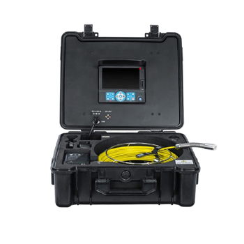 Manual Push HVAC/Duct Inspection Camera with Integral Display - 1-SI04