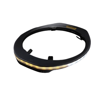 Illumagear 360° Halo SL Headlamp w/Amber Brake Light System for Hard Hats - S100011-101