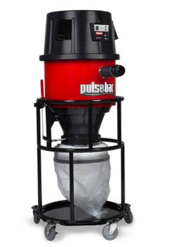 Pulse-Bac 2450 HPLM Series Dust Extractor w/Bagger Package - 103470-PKG