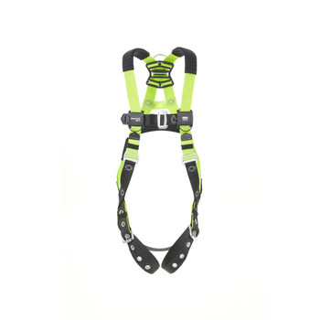 Miller H500 IS7P 1 pt Harness w/Mating Buckles w/Side D-rings w/Shoulder Pads