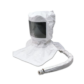 Alllegro Maintenance Free Tyvek Hood CF SAR Assembly w/ LP Adapter (for use with Cold Air System) - 9910-EF