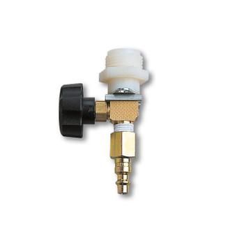 Alllegro Adjustable Flow Control Valve w/ Belt & Hansen Fitting - 9992