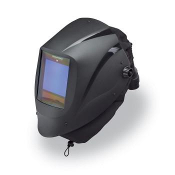 Alllegro EZ Air Black Welding Helmet w/Air Train & X81V ADF  - 9935-BHTX81V
