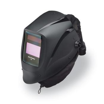 Alllegro EZ Air Black Welding Helmet w/Air Train & X54V ADF  - 9935-BHTX54V