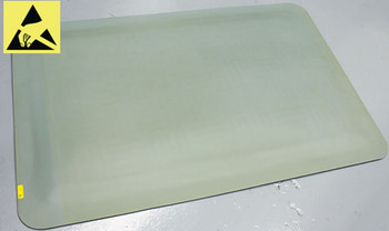 Ergomat Industry Optimal Smooth ESD Chair Mat - 2'x3'