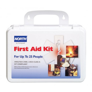 North 25 Person First Aid Kit - FAK25PL-CLSA