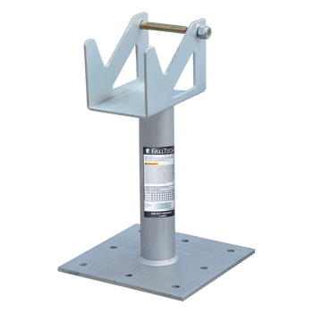 """FallTech 18"""" Post Anchor with Rotating SRL Cradle for Concrete and Steel - 78218CSSC"""