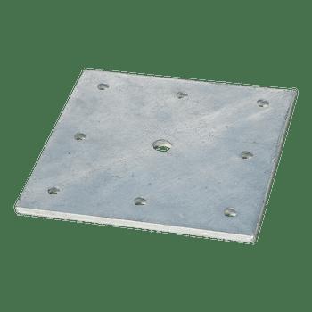 "FallTech 12"" x 12"" Post Anchor Plate for I-beam installation - 78312P"